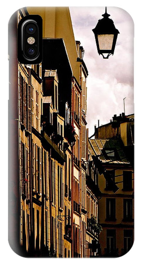 Left Bank IPhone X / XS Case featuring the photograph Ancient Paris by Ira Shander
