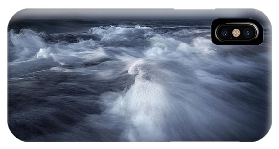 Italy IPhone X Case featuring the photograph Ancient Waves by Luca Rebustini
