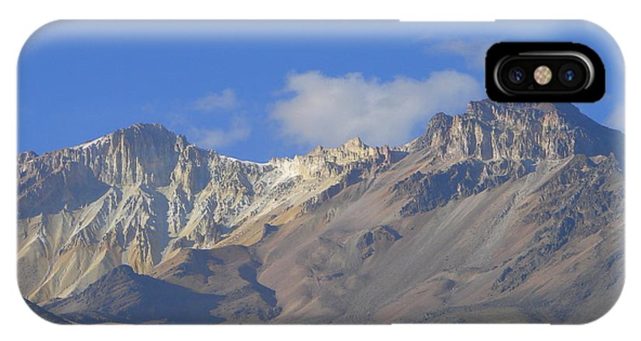 Mountains IPhone X Case featuring the photograph Andes Mountains 1 by Lew Davis
