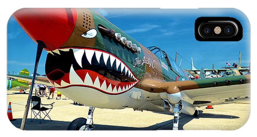 Airplane IPhone X Case featuring the photograph Andrews J B Air Show 3 by Ricardo J Ruiz de Porras