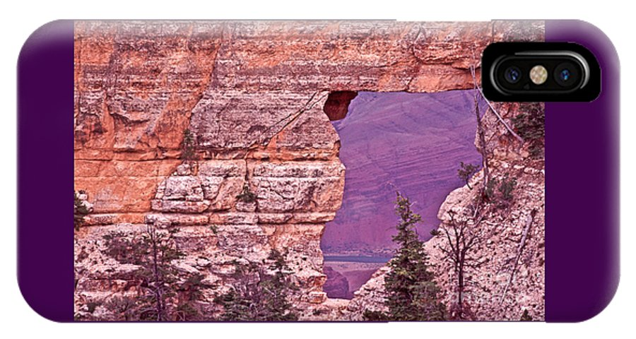 Angel's Window IPhone X Case featuring the photograph Angel's Window Grand Canyon by Liz Leyden