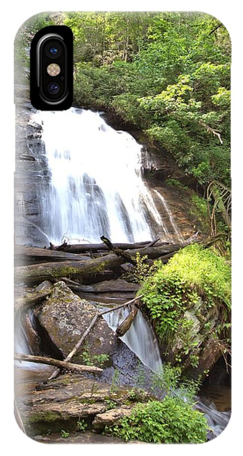 8815 IPhone X Case featuring the photograph Anna Ruby Falls - Georgia - 4 by Gordon Elwell