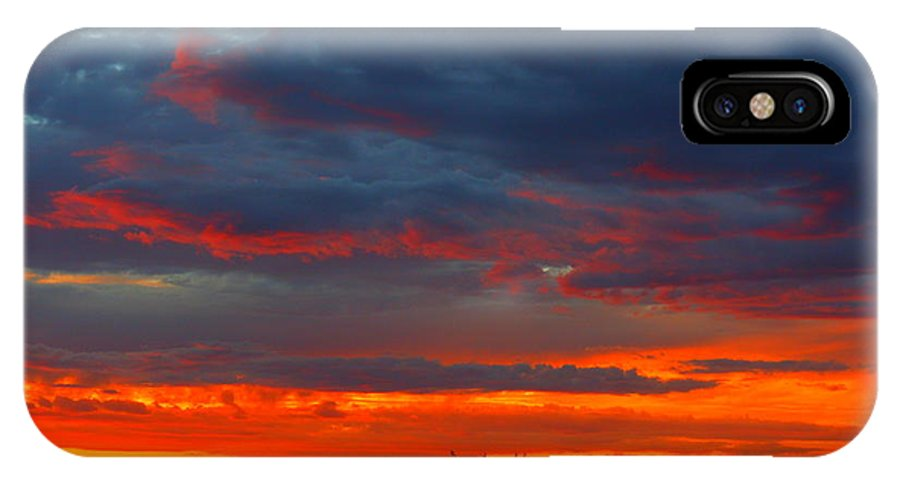 Landscape IPhone X Case featuring the photograph Another Masterpiece Created By The Hand Of Our Creator. by James Welch