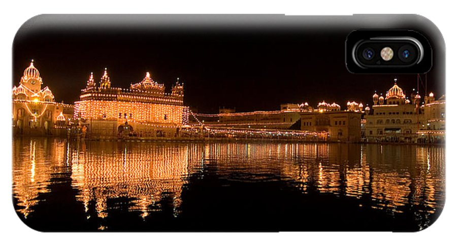 Golden Temple IPhone X Case featuring the photograph Another View by Devinder Sangha