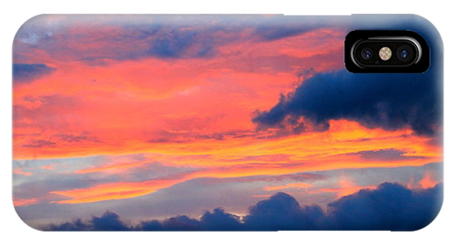 Landscape IPhone X / XS Case featuring the photograph Appalachian Sunset by Mary Koval