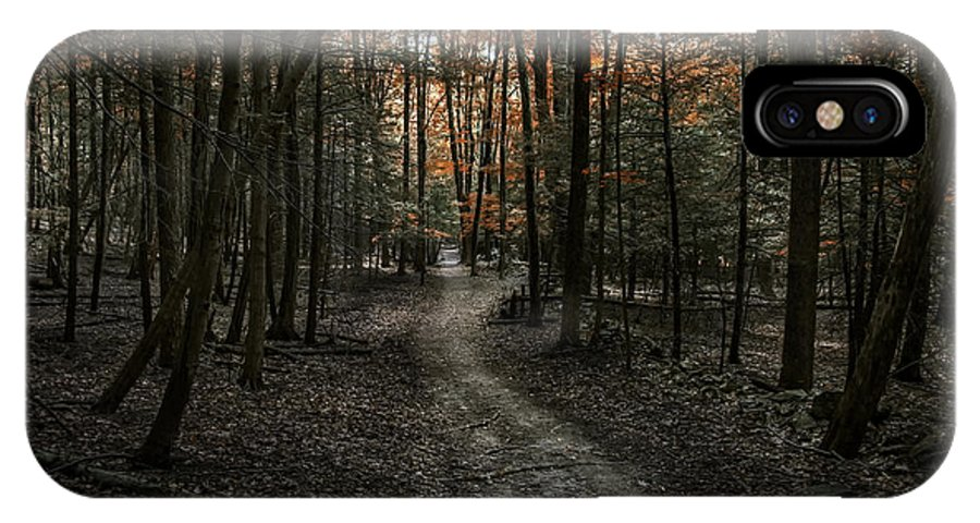 Landscape Woods Fall Time Trees IPhone X Case featuring the photograph Appalachian Trail by Anthony Fields