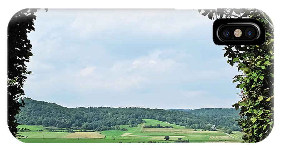 Travel IPhone X Case featuring the photograph Arch To Austria by Elvis Vaughn