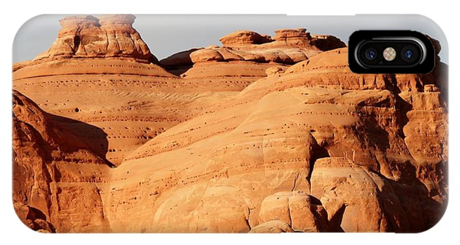 Utah IPhone X Case featuring the photograph Arches Ational Park 9 by Nelson Skinner