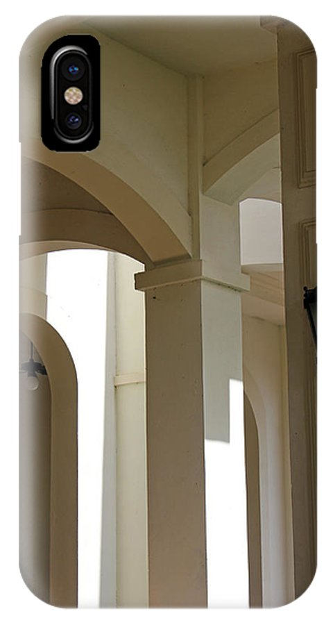 Arches IPhone X Case featuring the photograph Arches by Carolyn Stagger Cokley