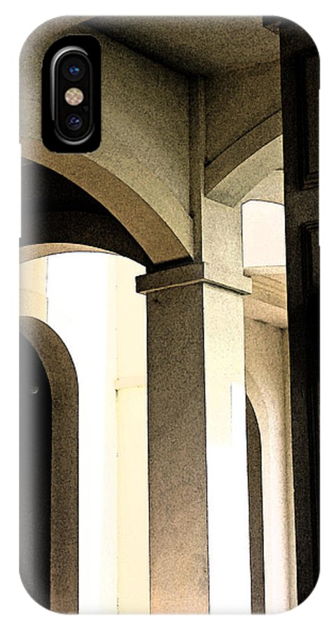 Arches IPhone X Case featuring the photograph Arches Fresco by Carolyn Stagger Cokley