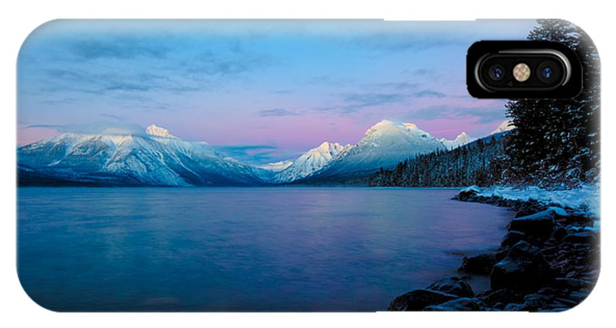 Arctic IPhone X Case featuring the photograph Arctic Slumber by Aaron Aldrich
