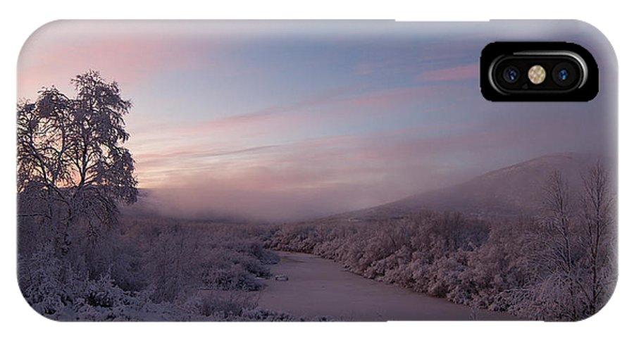 Arctic IPhone X Case featuring the photograph Arctic Sunrise by Pekka Sammallahti