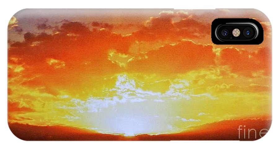 Photo IPhone X Case featuring the photograph Arise by Marsha Heiken