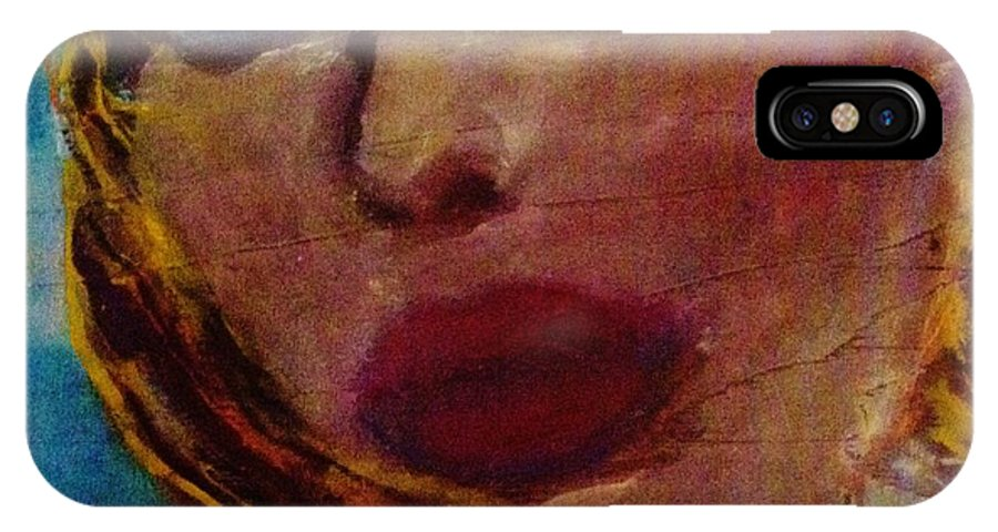 IPhone X Case featuring the painting Arizona Dreamin by Melinda Jones