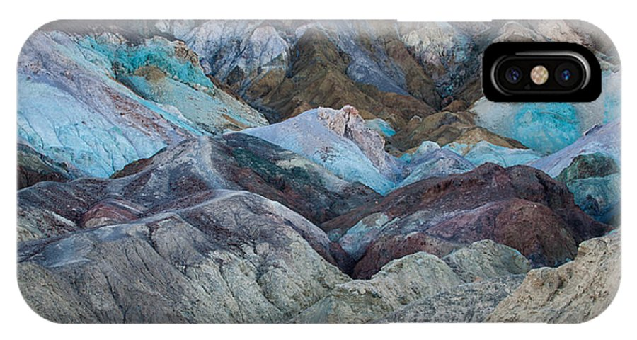 Artists Palette IPhone X Case featuring the photograph Artist's Palette by George Buxbaum