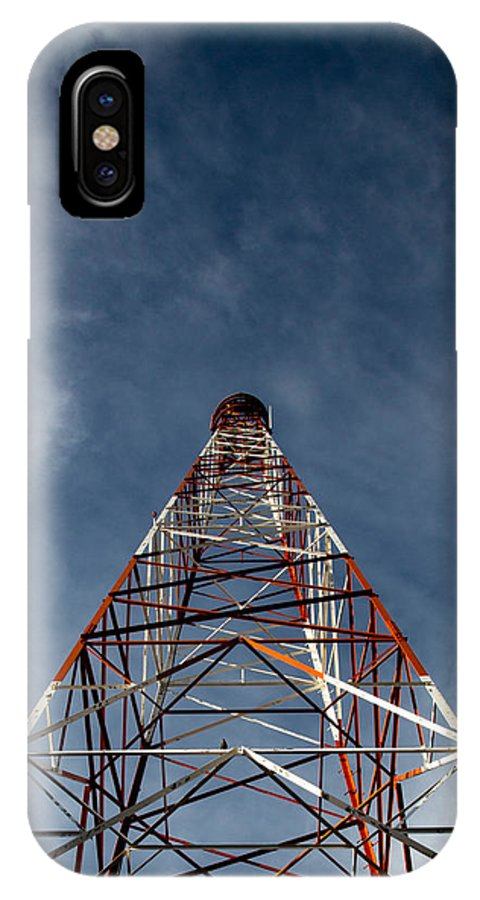 Tower IPhone X Case featuring the photograph Ascension by John Daly