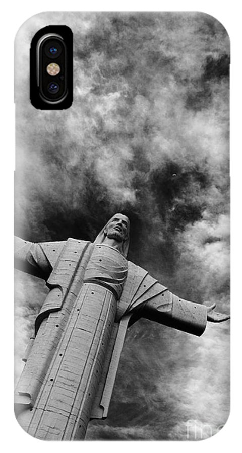 Jesus Christ IPhone X Case featuring the photograph Ascent To Heaven by James Brunker
