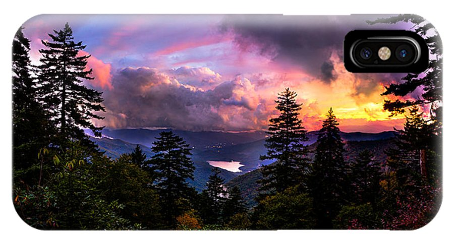 Asheville IPhone X Case featuring the photograph Asheville Heaven by Ryan Phillips