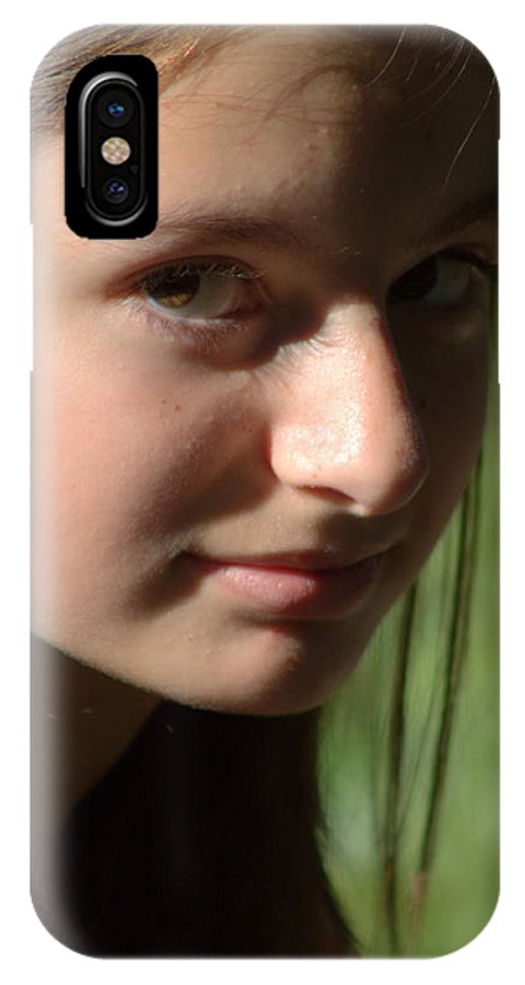 IPhone X Case featuring the photograph Ashley 10 by Ann Smith