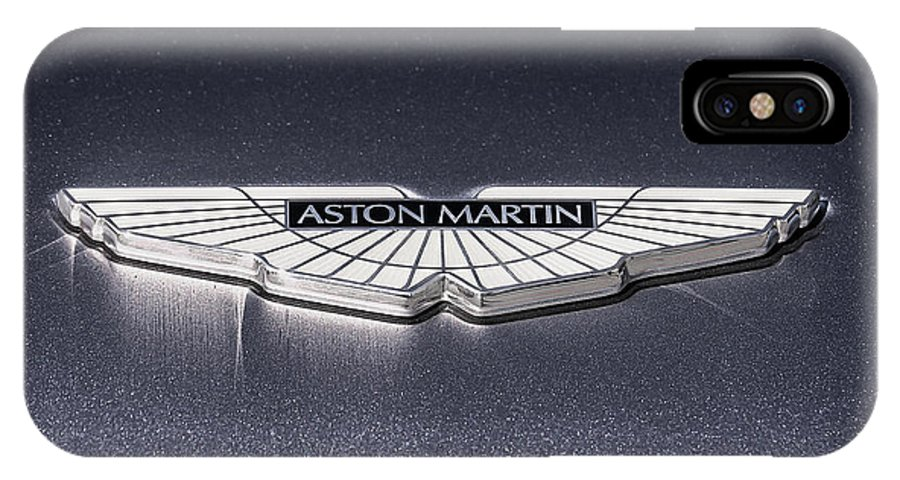 best service a58e7 33bc8 Aston Martin Badge IPhone X Case