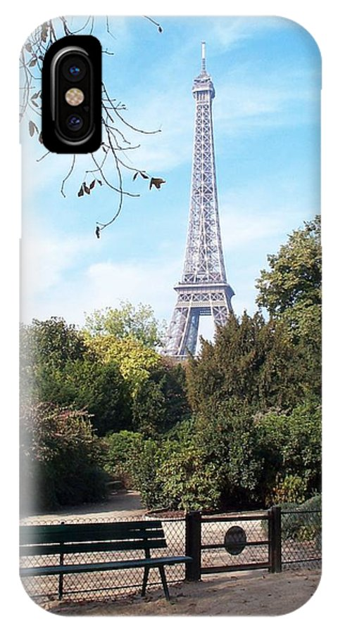 Eiffel Tower IPhone Case featuring the photograph At Last by Barbara McDevitt