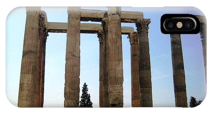 Athens IPhone X Case featuring the photograph Athens 4 by Teresa Ruiz