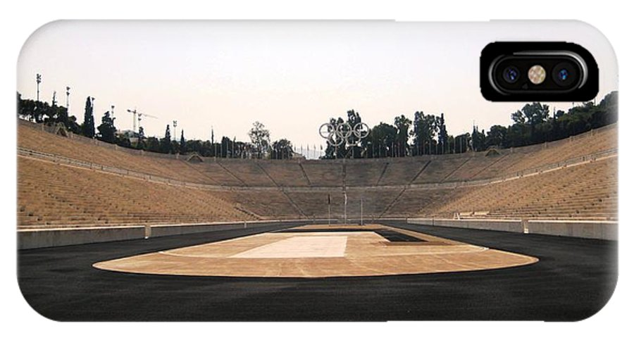 Athens Olympic IPhone X Case featuring the photograph Athens Olympic Field by Teresa Ruiz