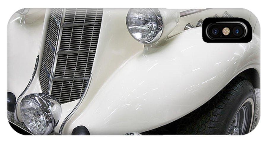 Heiko IPhone X Case featuring the photograph Auburn 851/852 Speedster by Heiko Koehrer-Wagner