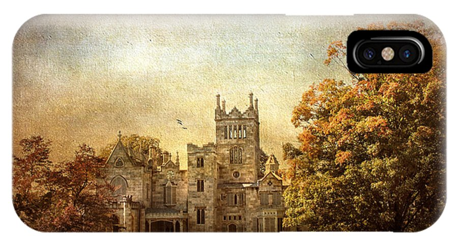 Lyndhurst IPhone X / XS Case featuring the photograph Autumn At Lyndhurst by Jessica Jenney