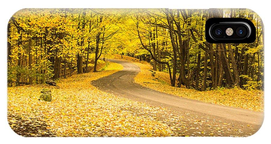 Autumn IPhone X Case featuring the photograph Autumn Colors by Lou Cardinale