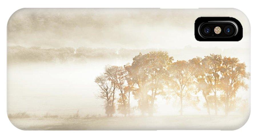 Colorado IPhone X Case featuring the photograph Autumn Dreams by John Fan