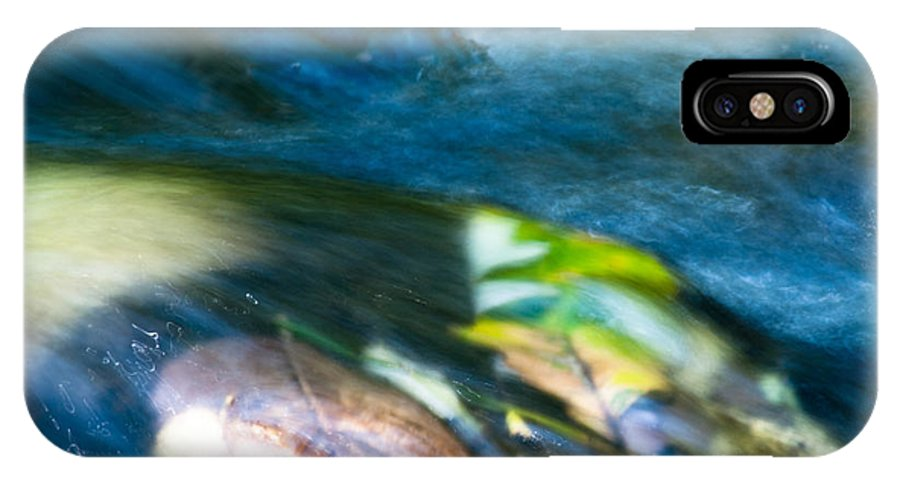 Optical Playground By Mp Ray IPhone X Case featuring the photograph Autumn Falls by Optical Playground By MP Ray