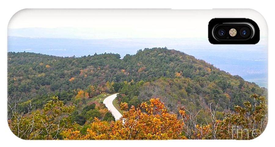 Autumn IPhone X Case featuring the photograph Autumn Horizon by Tisha Clinkenbeard