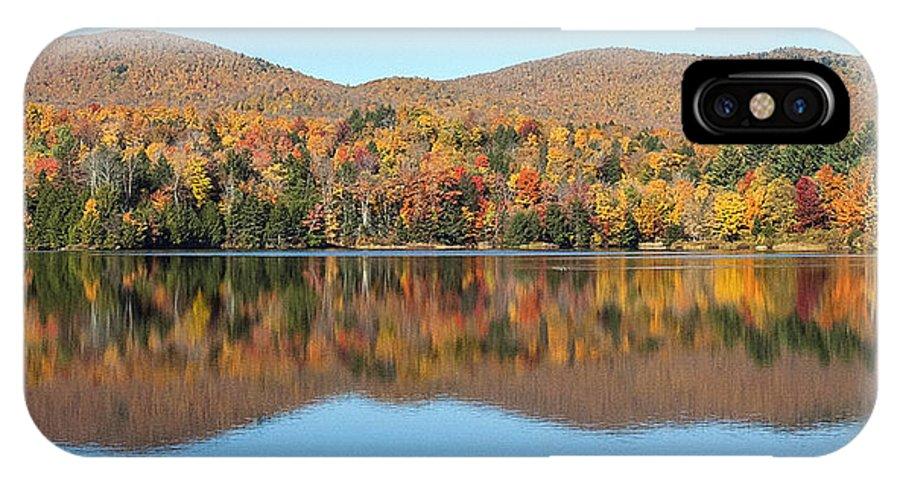 Autumn IPhone X Case featuring the photograph Autumn In Killington Vermont by Bruce Neumann