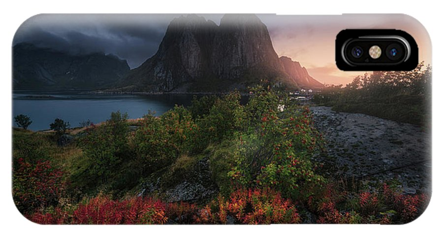 Norway IPhone X Case featuring the photograph Autumn Is Coming by Carlos F. Turienzo