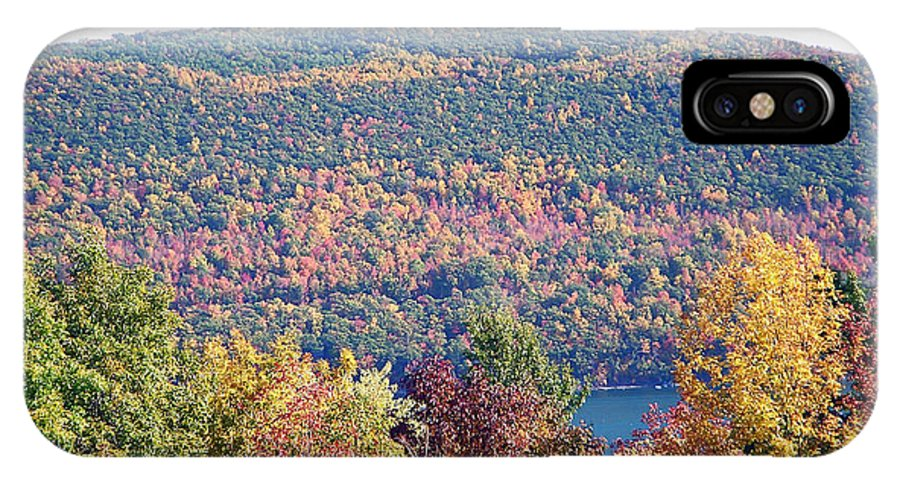 Landscape IPhone X / XS Case featuring the photograph Autumn Mountain by Aimee L Maher ALM GALLERY