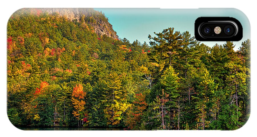 Adirondack's IPhone X Case featuring the photograph Autumn On Lake George by David Patterson