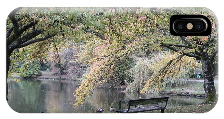 Photographs IPhone X Case featuring the photograph Autumn Serenity by Brian Chase