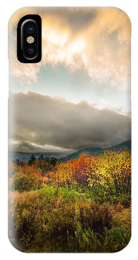 New Hampshire IPhone X Case featuring the photograph Autumn Storm Clearing by Jonathan Steele