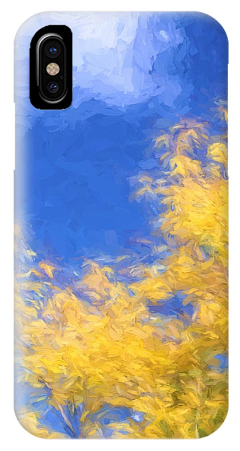 Fall IPhone X Case featuring the photograph Autumn Xiv by Tina Baxter