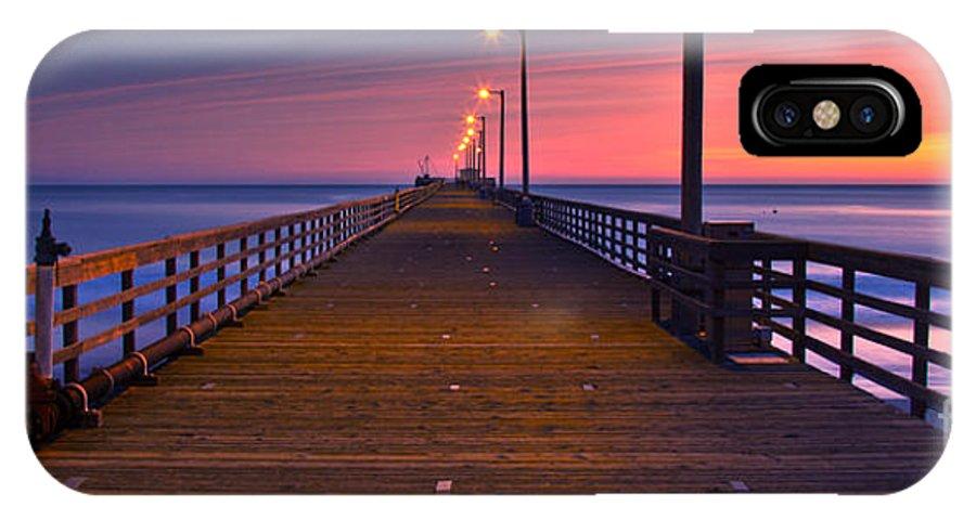 Pier IPhone X Case featuring the photograph Avila Beach Dream by Marco Crupi