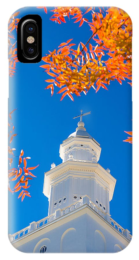 Temple IPhone X Case featuring the photograph Awakening by Chad Dutson