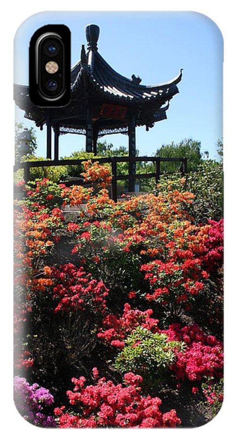 Flowers IPhone X Case featuring the photograph Azalea Beauty by Rhonda Burger