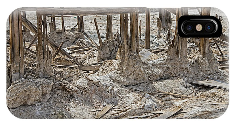Salton Sea IPhone X Case featuring the photograph Back To The Sea by Keith Ducker