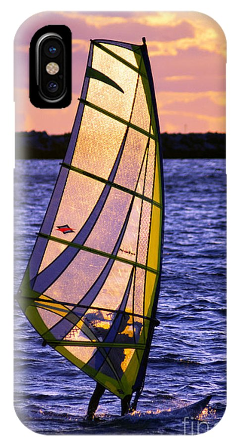 Wind IPhone X Case featuring the photograph Backlight by Joe Geraci