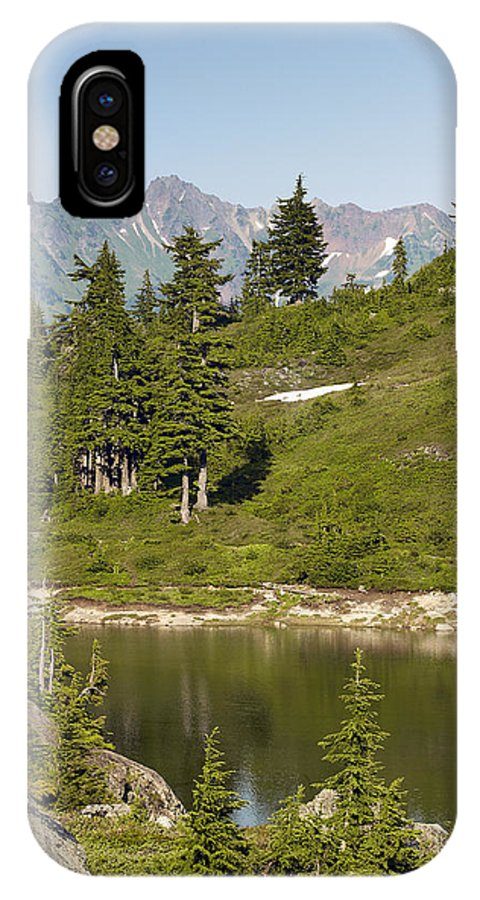 Bagley IPhone X Case featuring the photograph Bagley Lake - Washington by Brendan Reals