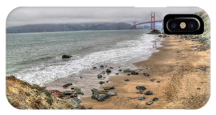 Baker Beach IPhone X Case featuring the photograph Baker Beach View by Krista Sidwell
