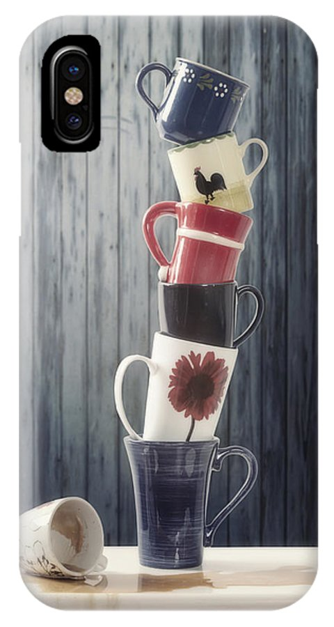 Cup IPhone X Case featuring the photograph Balanced by Joana Kruse