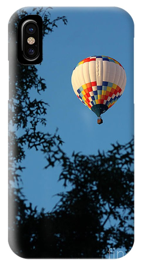 Hot Air Balloon IPhone X Case featuring the photograph Balloon-6992 by Gary Gingrich Galleries