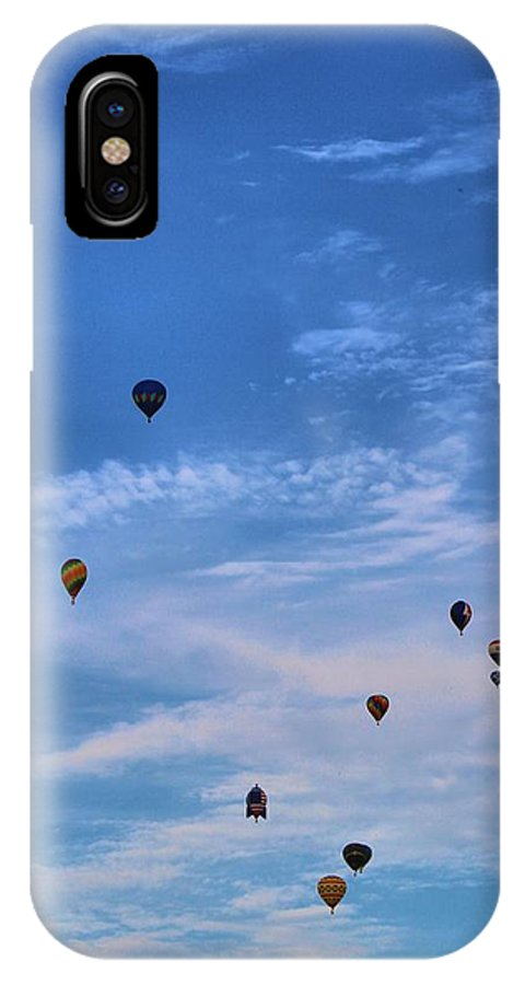 Hot Air Balloon Photograph IPhone X Case featuring the photograph Balloons Galore by Dan Sproul